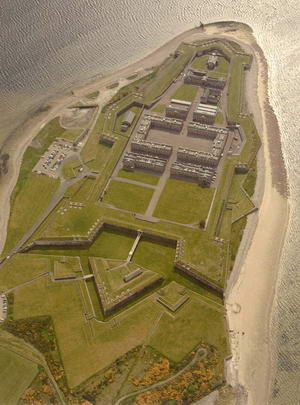 Gesamtanlage Fort George (Bild: Historic Scotland Ltd.)